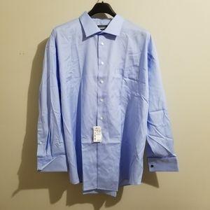 Pronto Uomo blue dress shirt NWT